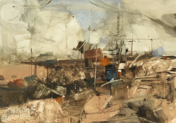 Chung Wei Chien, Watercolor Impromptu No.2