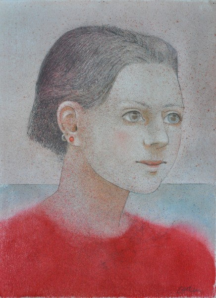 Dennis Geden, Girl in Red Angora