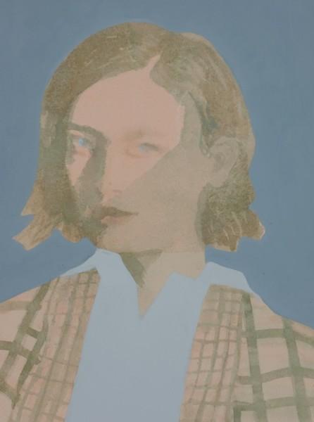 Caroline Cornelius, exhibitor in 2020 The Shadow watercolour & acrylic