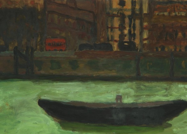 Bridget Moore, Barge on the River