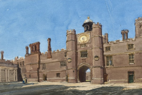 John Newberry, Clock Court, Hampton Court