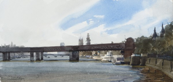 John Newberry, Charring Cross Bridge