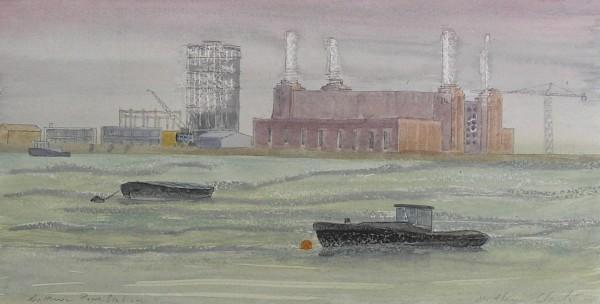 Caroline McAdam Clark, The Thames