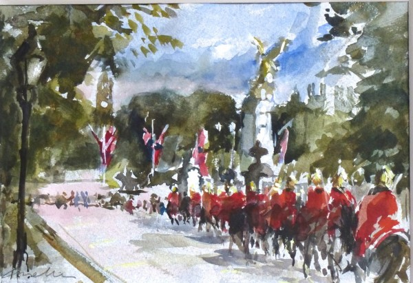 Jane Corsellis, Horseguards on the Mall