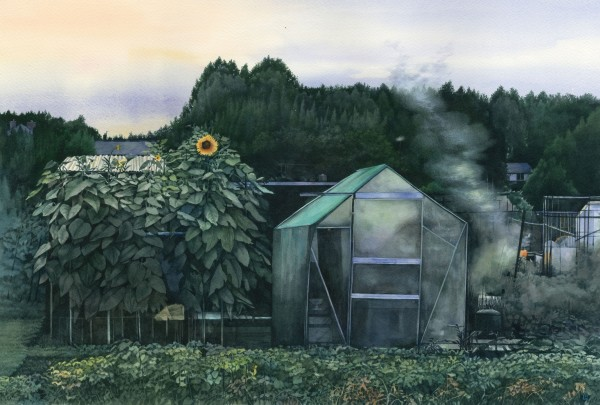 Liz Butler, Dusk at Dukes Meadows