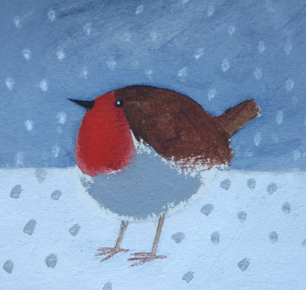 Jill Leman, Robin in the Snow