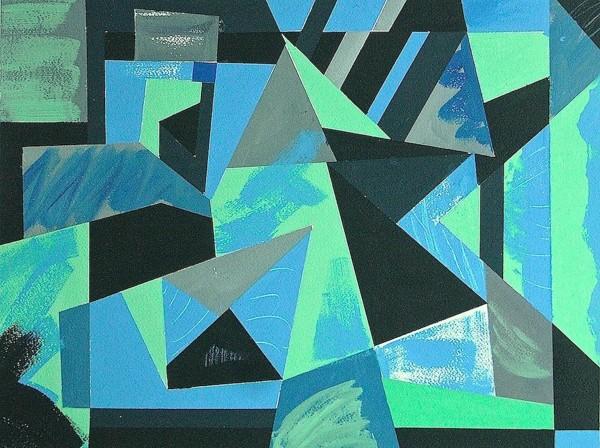 Geoffrey Pimlott, Bet You - Green and Blue