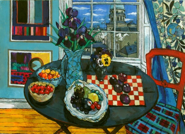 Sheila Findlay, Round Table, View from the Window