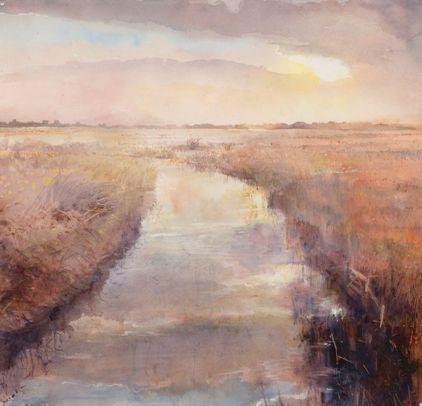 Sophie Knight, Last of the Sun, Late Summer, Salthouse