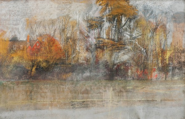 Paul Newland, Trees and Farmhouse
