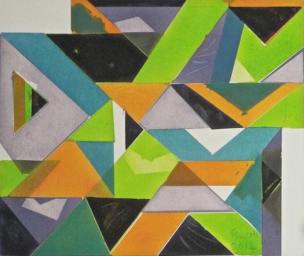 Geoffrey Pimlott, Arrangement for Five Colours