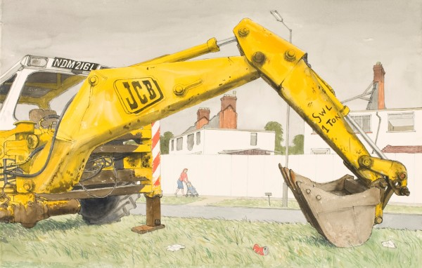 Arthur Lockwood, JCB at Rest