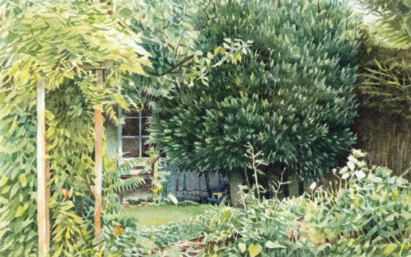 Liz Butler, Secret Garden Shed