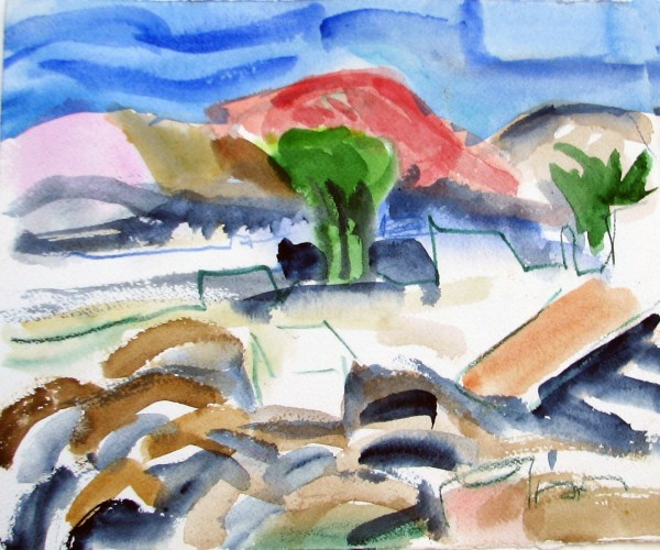 Agathe Sorel, Hills and Houses