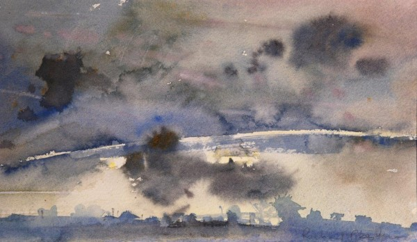 Richard Pikesley, Home, Evening Sky