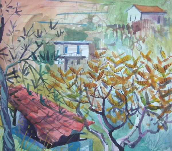 Jenny Wheatley, Trees and Roof Yialia