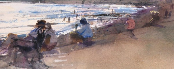 Richard Pikesley, Sun on Sea, Charmouth