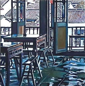 David Paskett, Spring Clean Right, Zhujiajiao (left)
