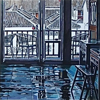 David Paskett, Spring Clean, Zhujiajiao (right)