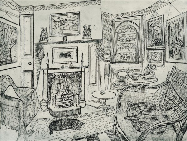Richard Bawden, Two Sisters Asleep