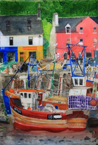 Peter Quinn, Low Tide, Tobermory, Isle of Mull