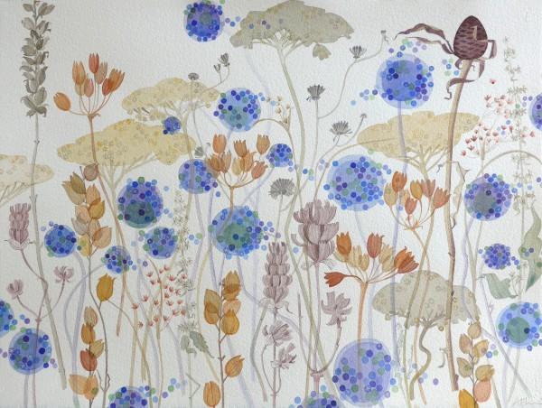 Angie Lewin, Wild Garden Seed Heads