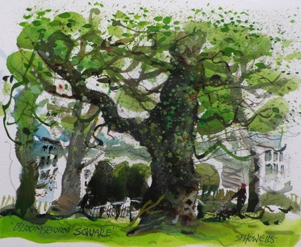 Sue Howells, Bloomsbury Square