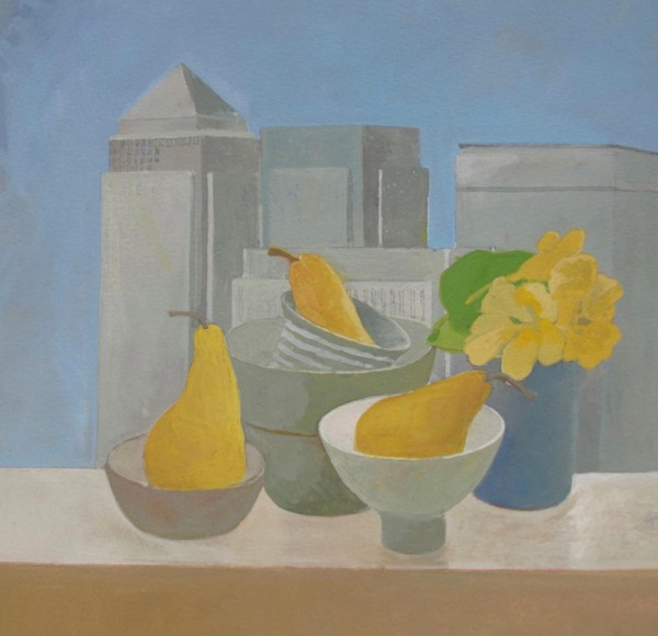 Wendy Jacob, Canary Wharf Still Life