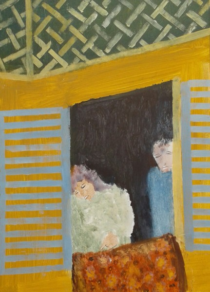Richard Sorrell, Two People at a Window