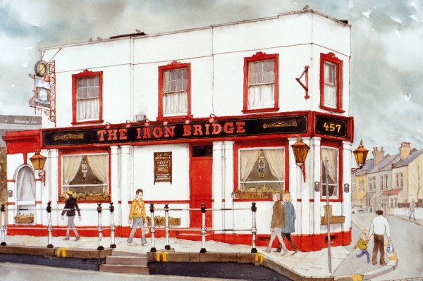 Arthur Lockwood, The Iron Bridge Pub, Isleworth
