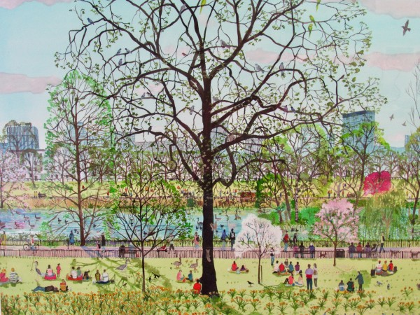 Emma Haworth, Spring Evening Picnic