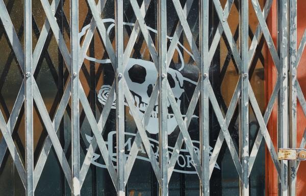 Denis Ryan Matador Bar Madrid acrylic Frame: 49 x 72 cm Artwork: 41 x 64 cm