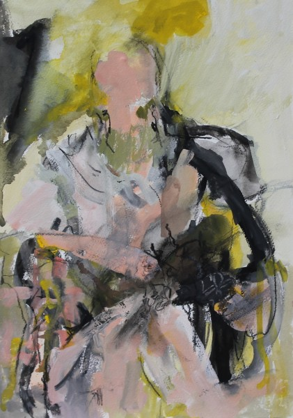 Julie D. Cooper, Sitting Figure