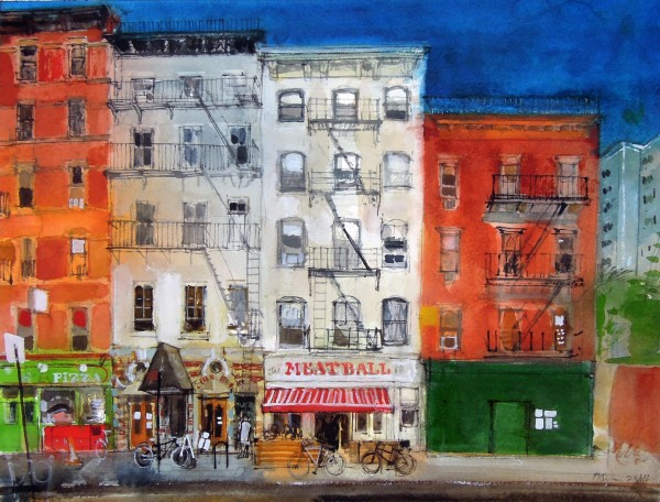 Peter Quinn, 9th Avenue, Chelsea, New York