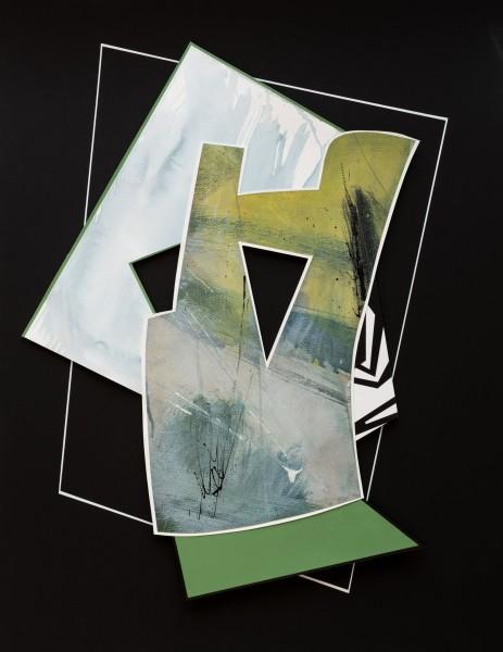 Lisa Traxler The Plan 1 acrylic Frame: 79 x 61 cm Artwork: 79 x 61 cm