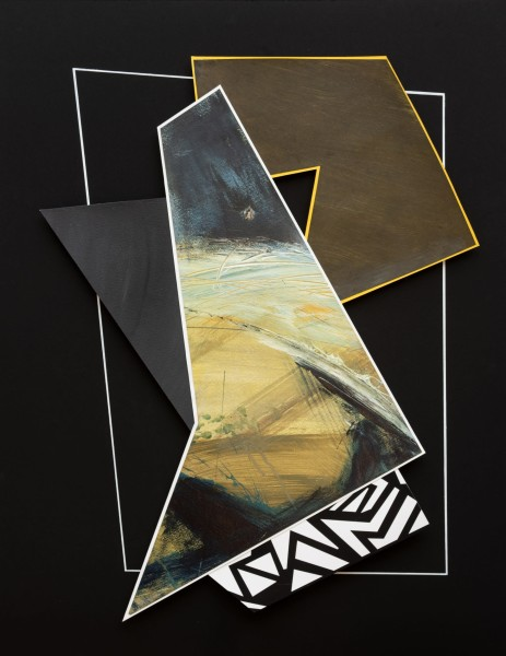 Lisa Traxler The Plan 2 acrylic Frame: 79 x 61 cm Artwork: 79 x 61 cm