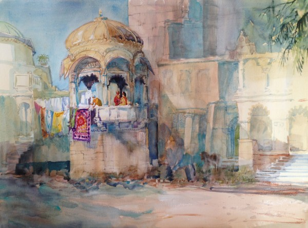 Michael Chaplin, Washday - Jaipur, India