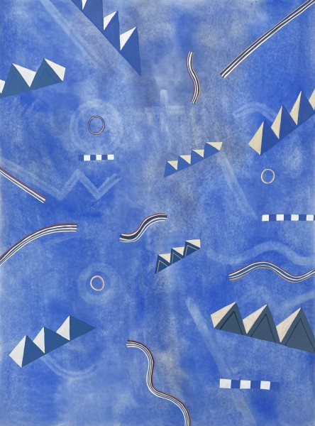 Thomas Plunkett Beyond the Winter Solstice III watercolour & gouache Artwork: 56 x 76cm