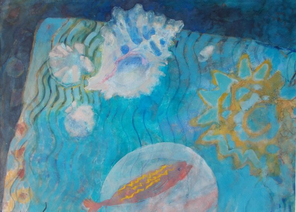Anne Marlow, Sun and Fish