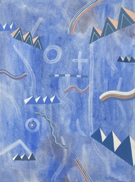 Thomas Plunkett Beyond the Winter Solstice I watercolour & gouache Artwork: 56 x 76cm