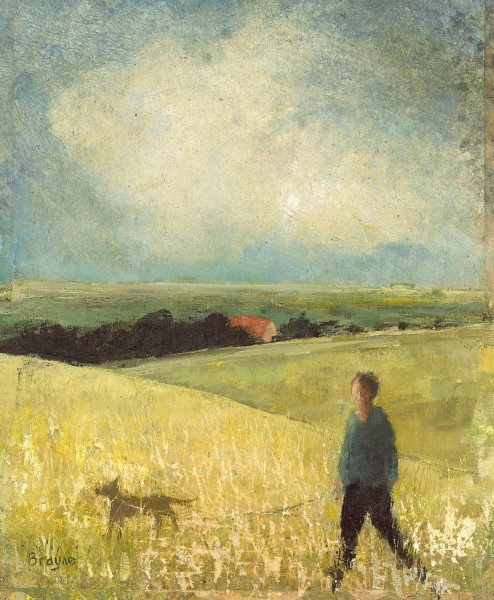 David Brayne A Walk at the Spring Equinox pigment & acrylic