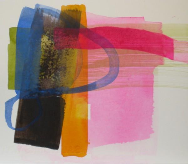Jane Lewis Consider it Done ink Frame: 33 x 35 cm Artwork: 17 x 20 cm