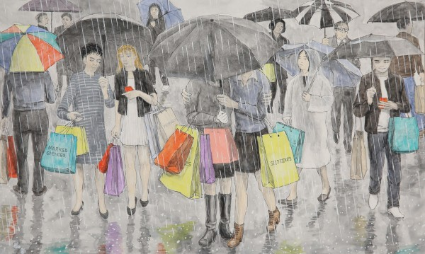 Arthur Lockwood, Shopping in the Rain