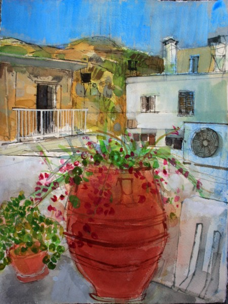 Peter Quinn, Pots and Aerials, Crete