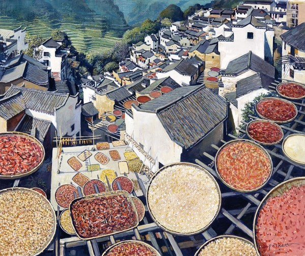 David Paskett, Huang Liang Rooftops