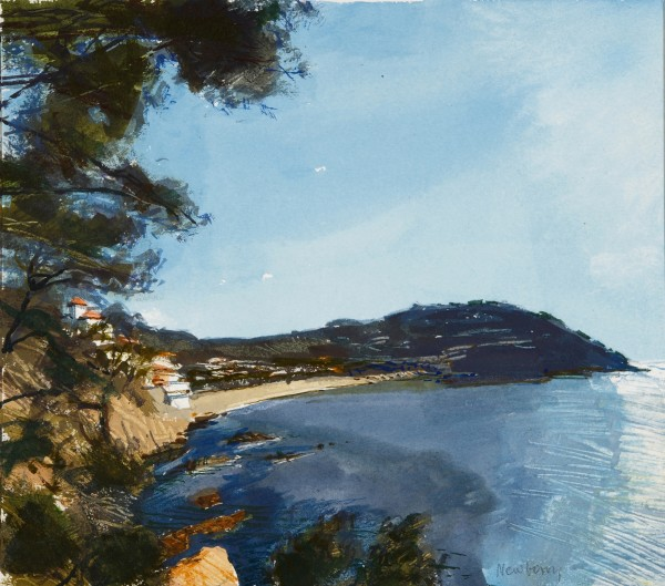 John Newberry Lafranc, Spain watercolour 37x46cm