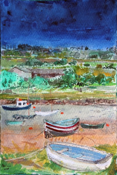 Peter Quinn, Rowing Boat, Alnmouth