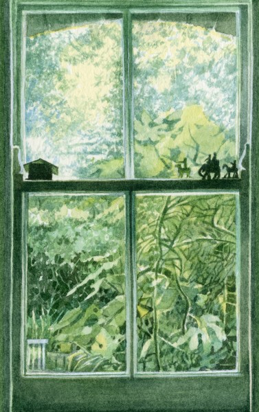 Liz Butler, Kitchen Window