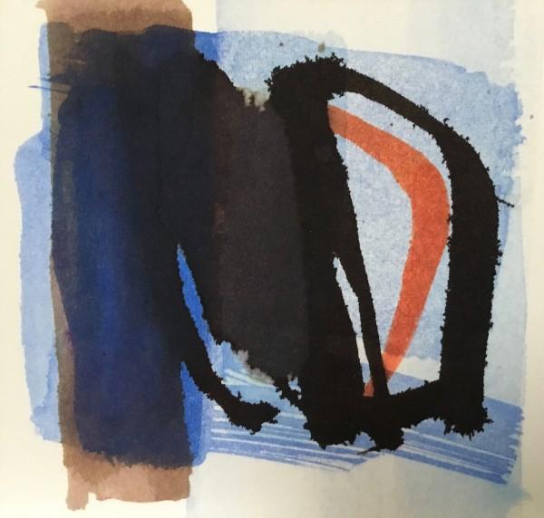 Jane Lewis Stay Inside ink on paper Frame: 20 x 20 cm Artwork: 10 x 10 cm