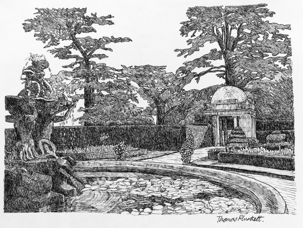 Thomas Plunkett, Classical Gardens at Luton Hoo II